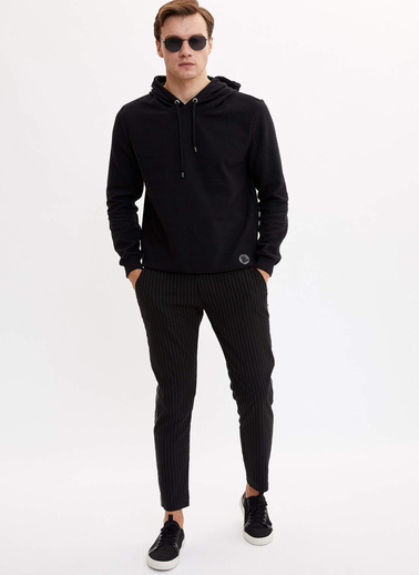DeFacto Jogger Pantolon Siyah